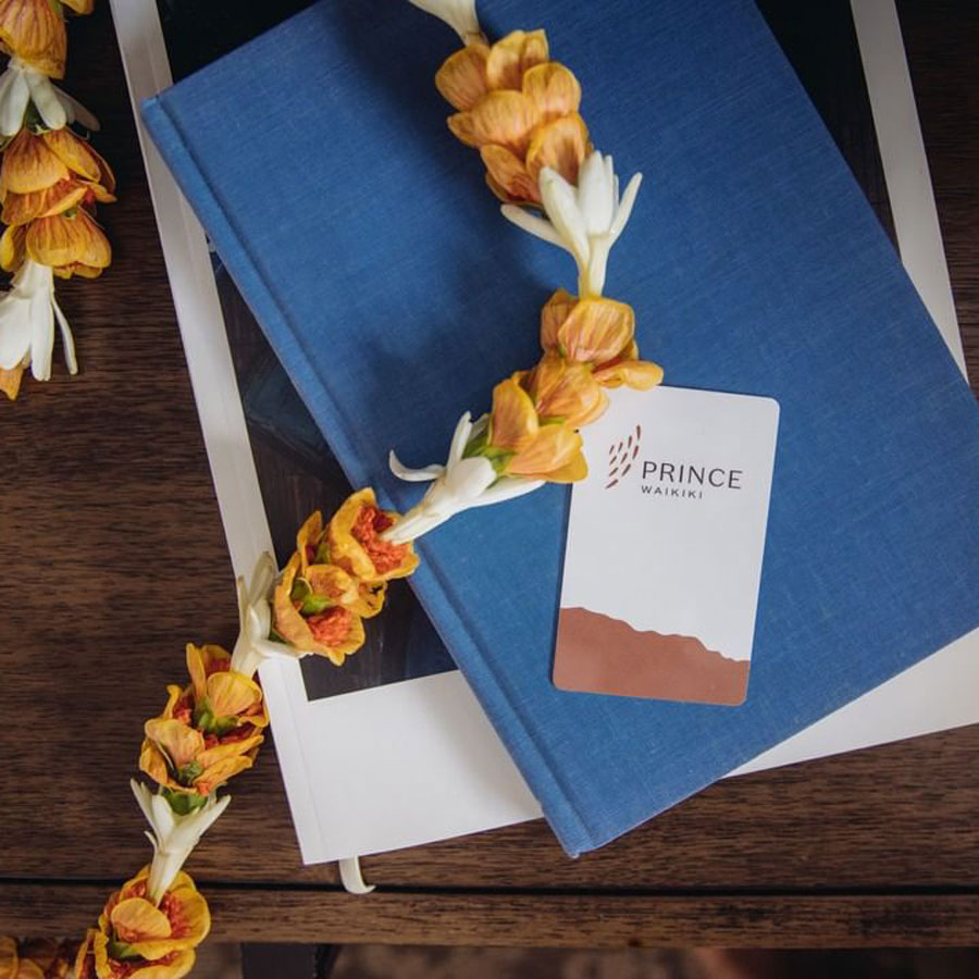 Prince Waikiki Hotel Card