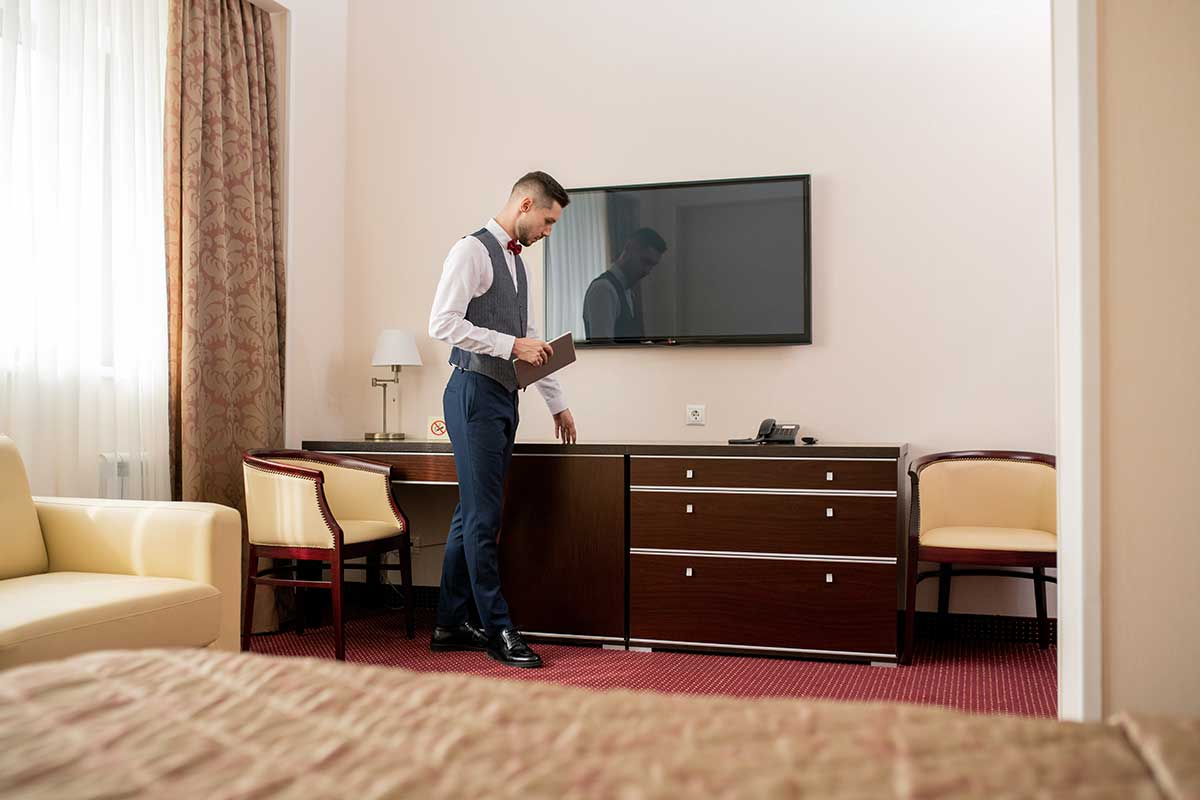 Dispatch Center Protect Employee Alone Hotel Room